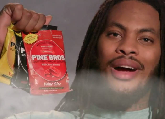Waka Flocka Flame Appears In New Pine Bros Cough Drops Commercial