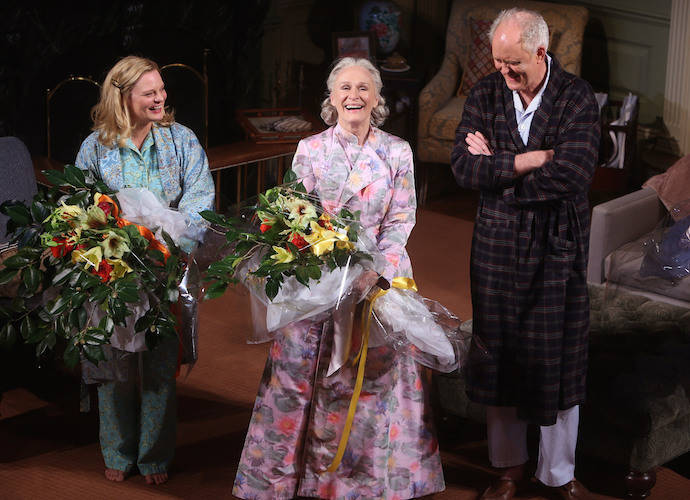 Glenn Close, John Lithgow and Martha Plimpton Take A Bow At 'A Delicate Balance' Curtain Call