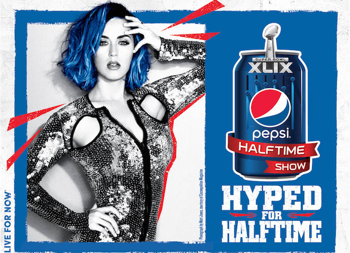 Katy Perry Performing At Super Bowl XLIX Halftime
