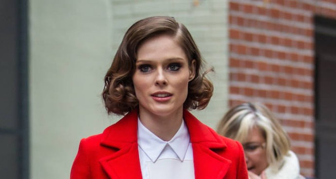 Coco Rocha Films 'The Face' In NYC