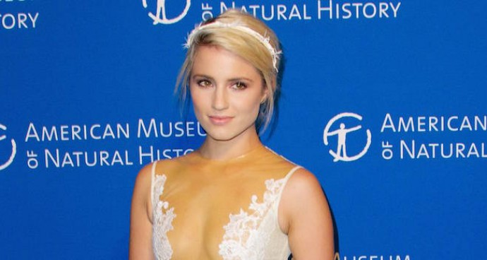LOOK OF THE DAY: Dianna Agron Goes For A Princess Look At Museum Gala