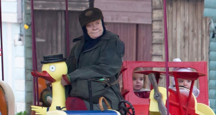 Dame Maggie Smith Films 'The Lady in the Van'