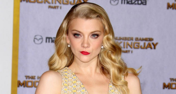 LOOK OF THE DAY: Natalie Dormer Dazzles In Lemon Yellow Gown At 'Hunger Games: Mockingjay – Part 1' Premiere