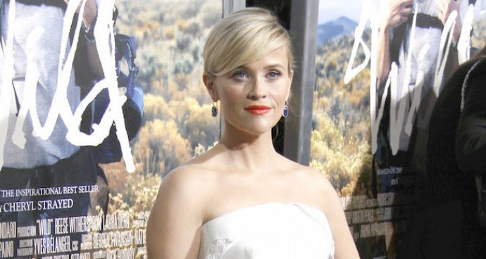 LOOK OF THE DAY: Reese Witherspoon Attends 'Wild' Premiere In Elegant White Dress