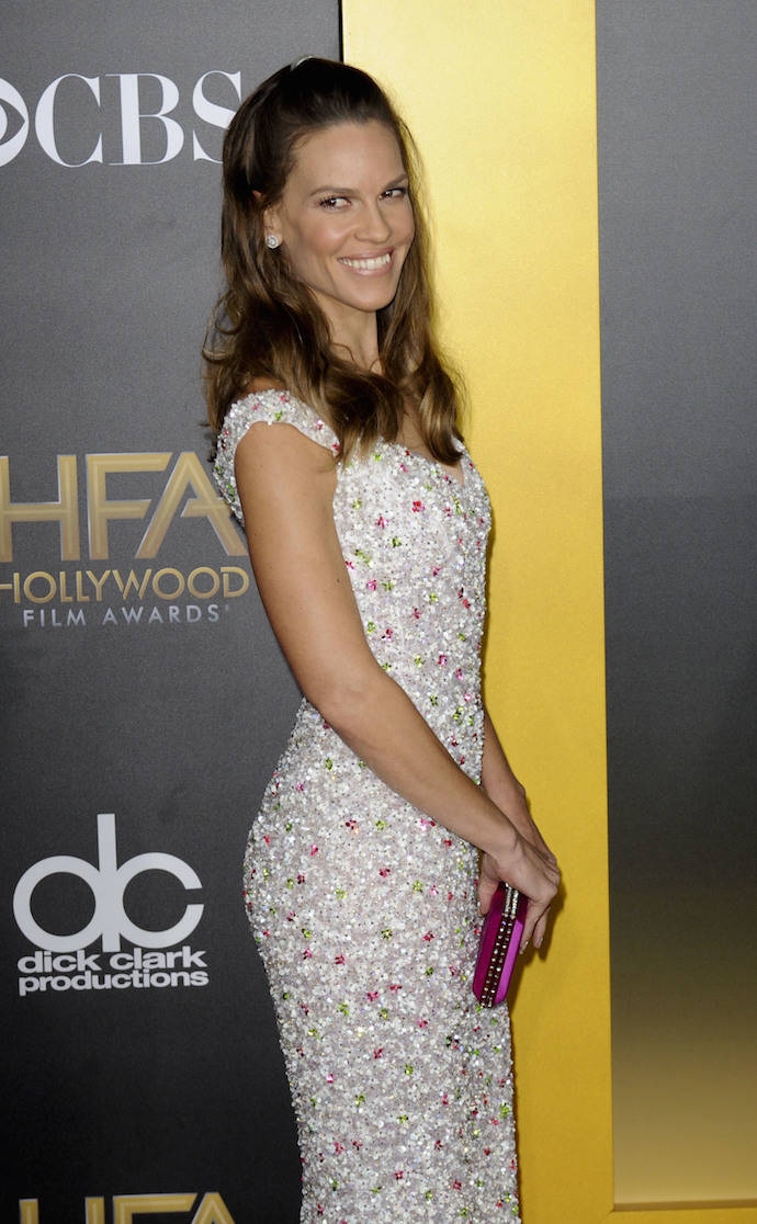 Hilary Swank Attends The Hollywood Film Awards In Style