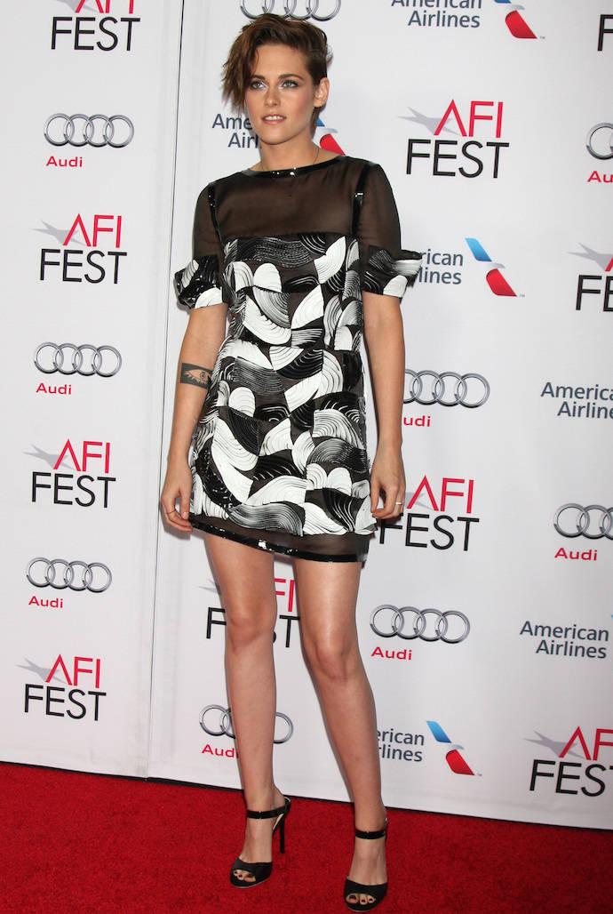 Look Of The Day Kristen Stewart Rocks Chanel For Still
