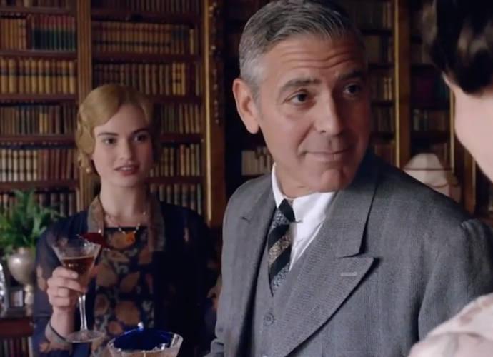 George Clooney Drops By 'Downton Abbey' Charity Sketch In New Sneak Peek