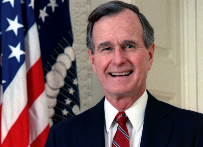 President George H.W. Bush Still In Hospital