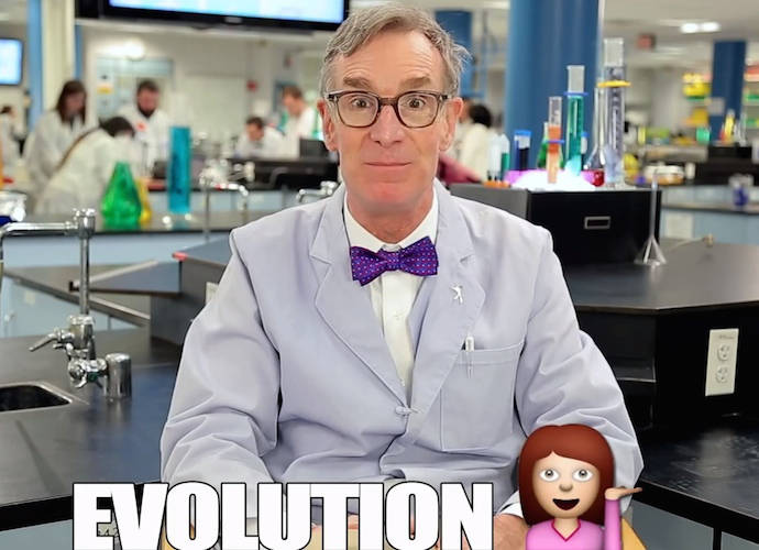 Bill Nye Explains Evolution With Emojis