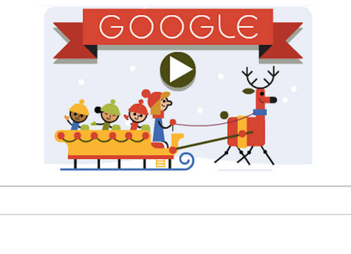Google Celebrates The Holidays With Interactive Doodle