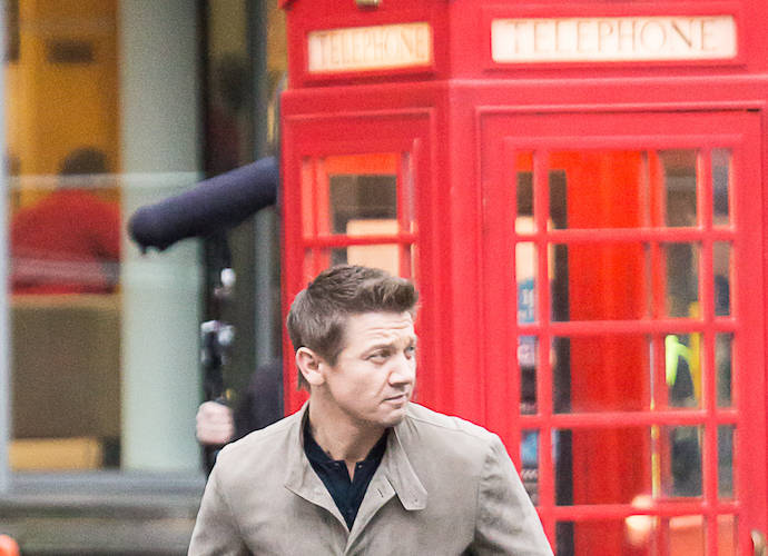 Jeremy Renner Films 'Mission: Impossible 5' In London