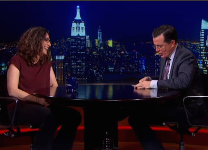 Stephen Colbert Dubs 'Serial' Host Sarah Koenig His 'Favorite Guest'