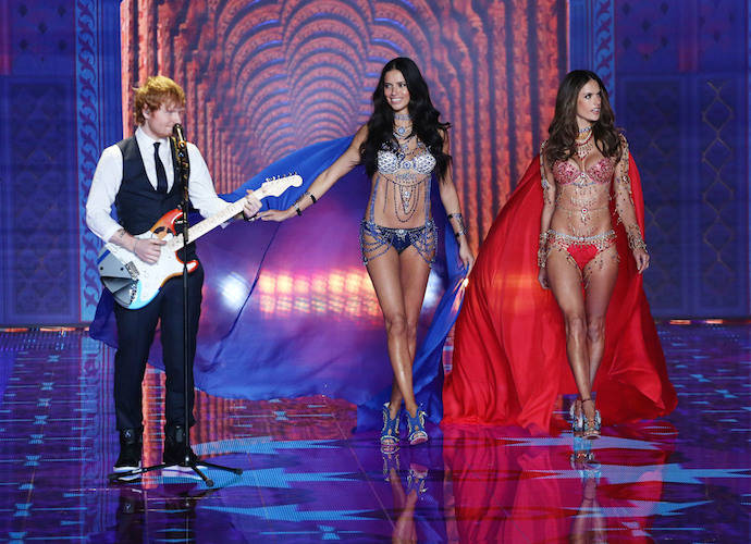 Victoria's Secret Fashion Show 2014: Taylor Swift, Ed Sheeran & More Perform As Angels Walk The Runway