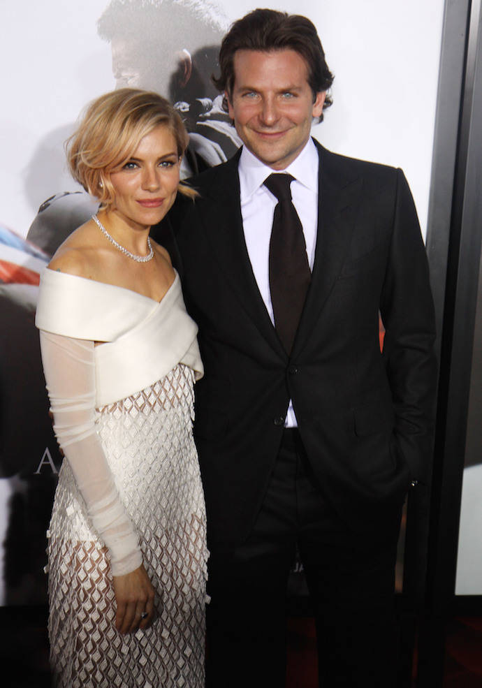 Bradley Cooper & Sienna Miller Looked Sharp At 'American Sniper' Premiere