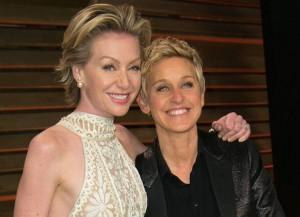 Ellen DeGeneres & Portia de Rossi (Image: Getty)
