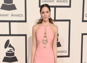 Katharine McPhee at the Grammy's 2015 (Image: Getty)