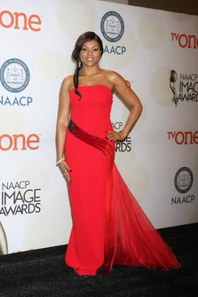 Taraji P. Henson at the 2015 NAACP Image Awards
