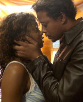 Taraji P. Henson and Terrence Howard in 'Hustle & Flow'
