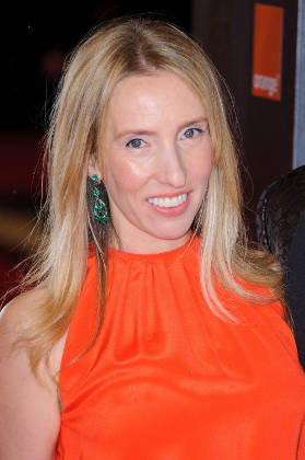 Sam Taylor-Johnson on the red carpet
