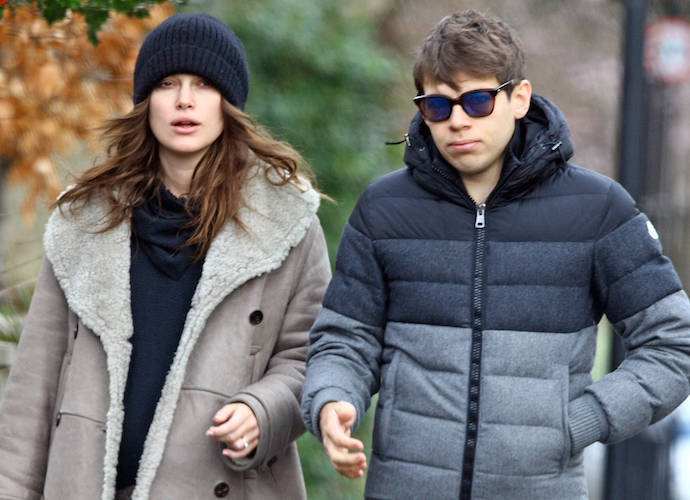 Keira Knightley And James Righton Back In London After