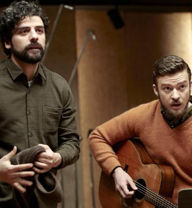 Oscar Isaac with Justin Timberlake in 'Inside Llewyn Davis'
