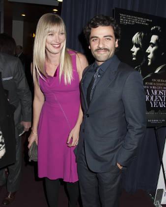 Oscar Isaac with Maria Miranda