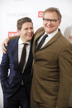 Allen Leech with Hugh Bonneville