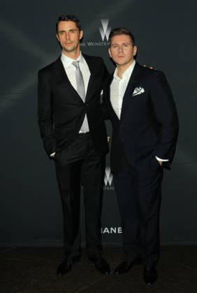 Allen Leech with Matthew Goode