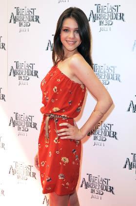 Nicola Peltz at 'The Last Airbender' Publicity Event