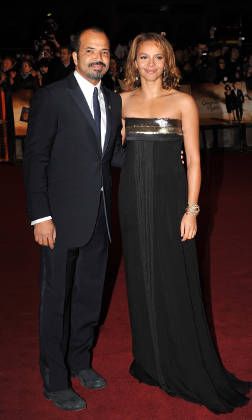 Jeffrey Wright with Carmen Ejogo