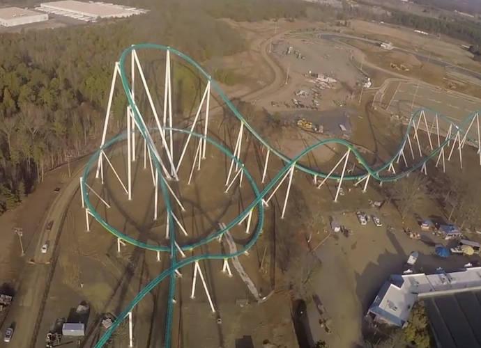 Carowinds Amusement Park Unveils Fury 325 Roller Coaster - uInterview