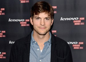 Ashton Kutcher testifies at US Senate: Actor Ashton Kutcher named Lenovo product engineer and launches Yoga Tablet at YouTube Space LA on October 29, 2013 in Los Angeles, California.