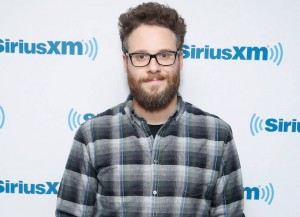 NEW YORK, NY - DECEMBER 15: Seth Rogen visits the SiriusXM Studios on December 15, 2014 in New York City. (Photo: Getty)