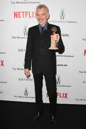Billy Bob Thornton at the 2015 Golden Globe Awards