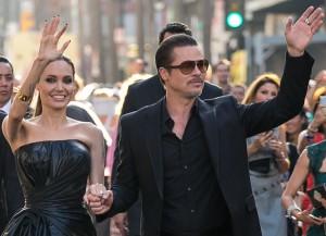 Brad Pitt & Angelina Jolie at world Premiere of Disney's 'Maleficent' held at the El Capitan Theatre - Arrivals