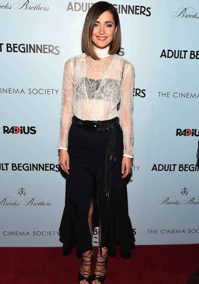 Rose Byne Hits 39 Adult Beginners 39 Premiere In Nyc In On Trend Ensemble Uinterview