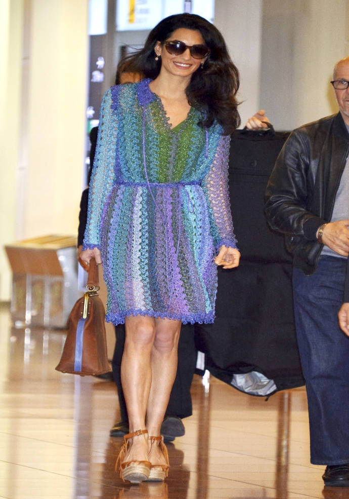 Get The Look For Less: Amal Clooney's Colorful Spring Style - uInterview
