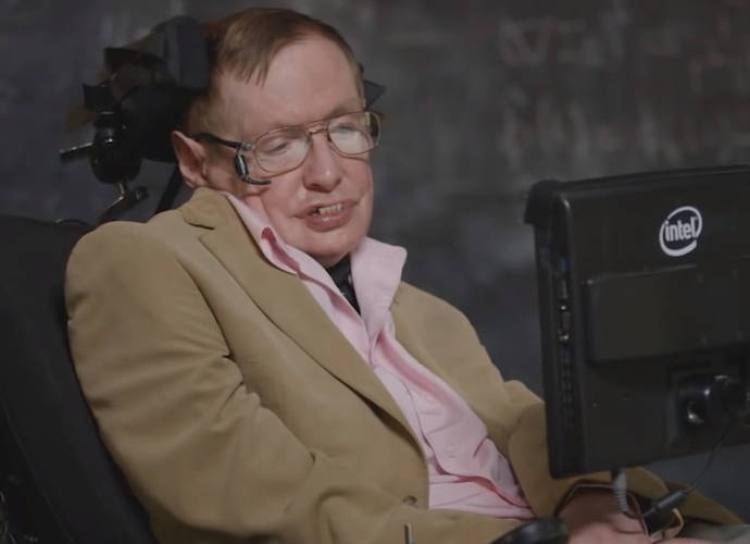 Stephen Hawking Tries Out New Voices For Comic Relief Charity