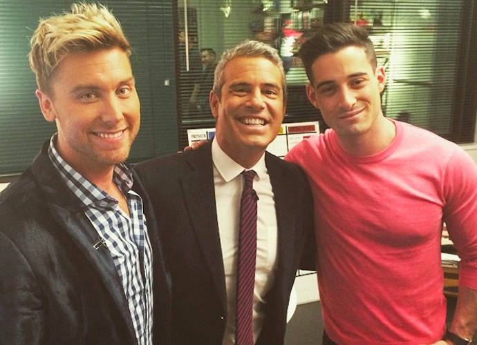 Lance bass dating andy cohen anderson