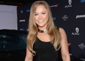 Ronda Rousey (Photo by Michael Kovac/Getty Images for Dodge)