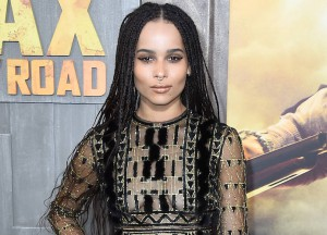 "HOLLYWOOD, CA - MAY 07: Actress Zoe Kravitz arrives at the Premiere Of Warner Bros. Pictures' ""Mad Max: Fury Road"" at TCL Chinese Theatre on May 7, 2015 in Hollywood, California. (Photo by Frazer Harrison/Getty Images)"