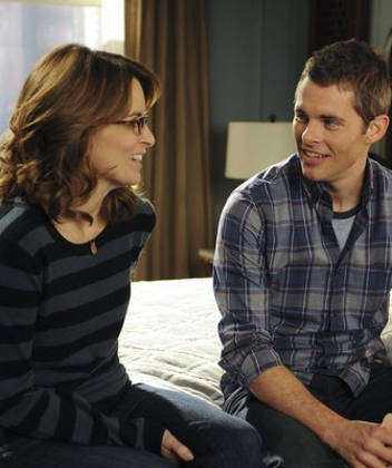 James Marsden and Tina Fey in '30 Rock'
