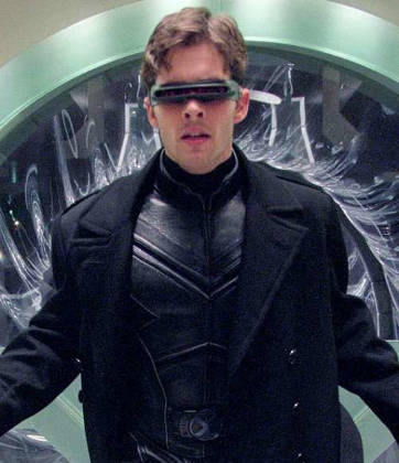 James Marsden in 'X-Men'