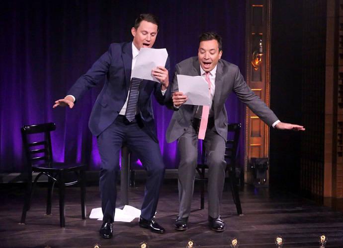 Channing Tatum And Jimmy Fallon Peform 'Magic Mike' Skits Written By