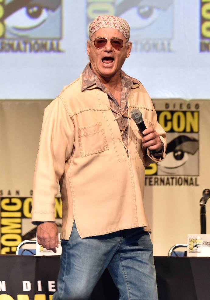 Bill Murray Makes His Comic-Con Debut