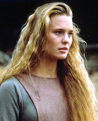 Robin Wright as Princess Buttercup in 'The Princess Bride'