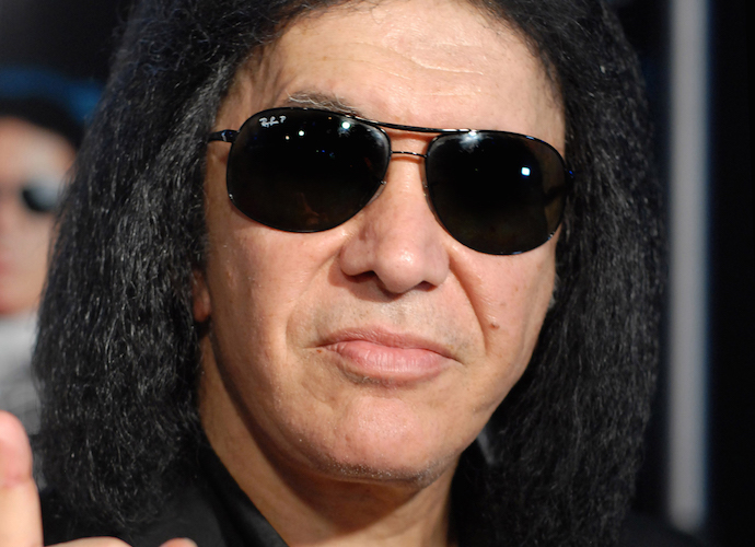 KISS Frontman Gene Simmons Visits White House, Tells Story Of Holocaust Survivor Mom