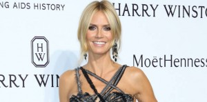 MILAN, ITALY - SEPTEMBER 26: Heidi Klum attends amfAR Milano 2015 at La Permanente on September 26, 2015 in Milan, Italy. (Photo by Victor Boyko/Getty Images for Harry Winston)