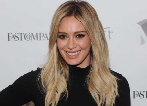 """NEW YORK, NY - NOVEMBER 10: Actress Hilary Duff appears during """"Inside TV Land's Hit Show """"Younger"""" With TV Icon Darren Starr, Patricia Field And Debi Mazar"""" at The Fast Company Innovation Festival on November 10, 2015 in New York City. (Photo by Craig Barritt/Getty Images for Fast Company)"""