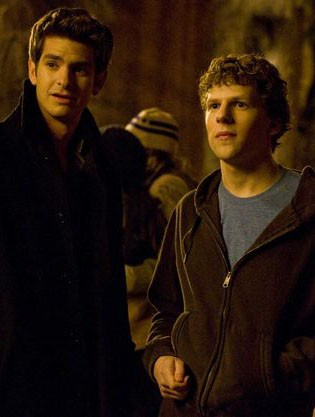 Andrew Garfield in 'The Social Network'